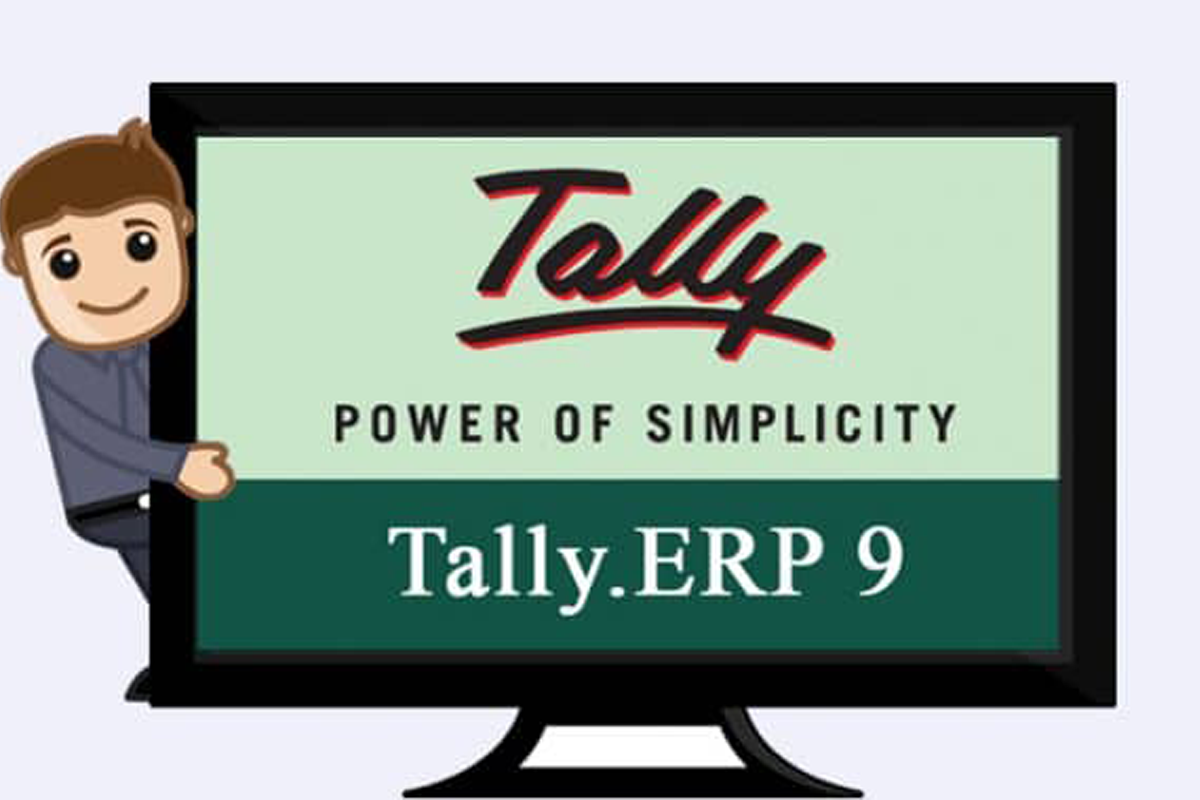 Tally ERP 9 Account software